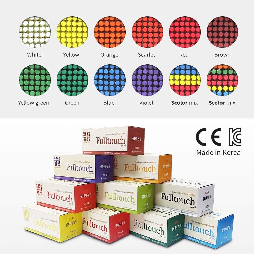 Hagoromo Fulltouch White Chalk 72pcs