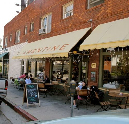 Good Bakery In Los Angeles: Clementine Bakery And Cafe In Century City. Favorite Spot
