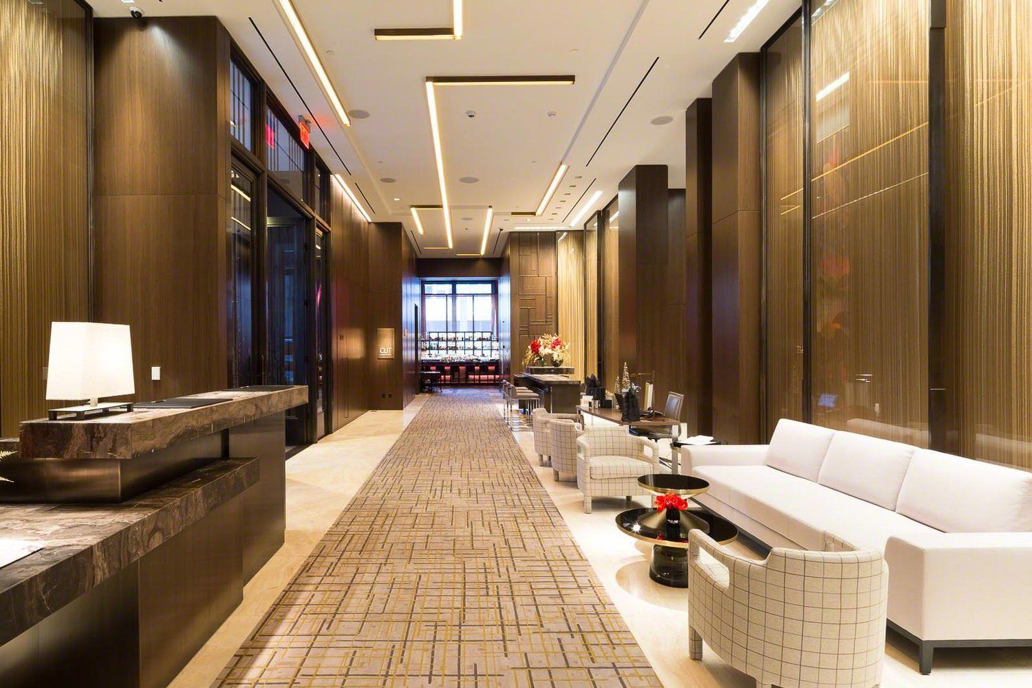 Hospitality project four seasons hotel downtown new york for Design hotel usa