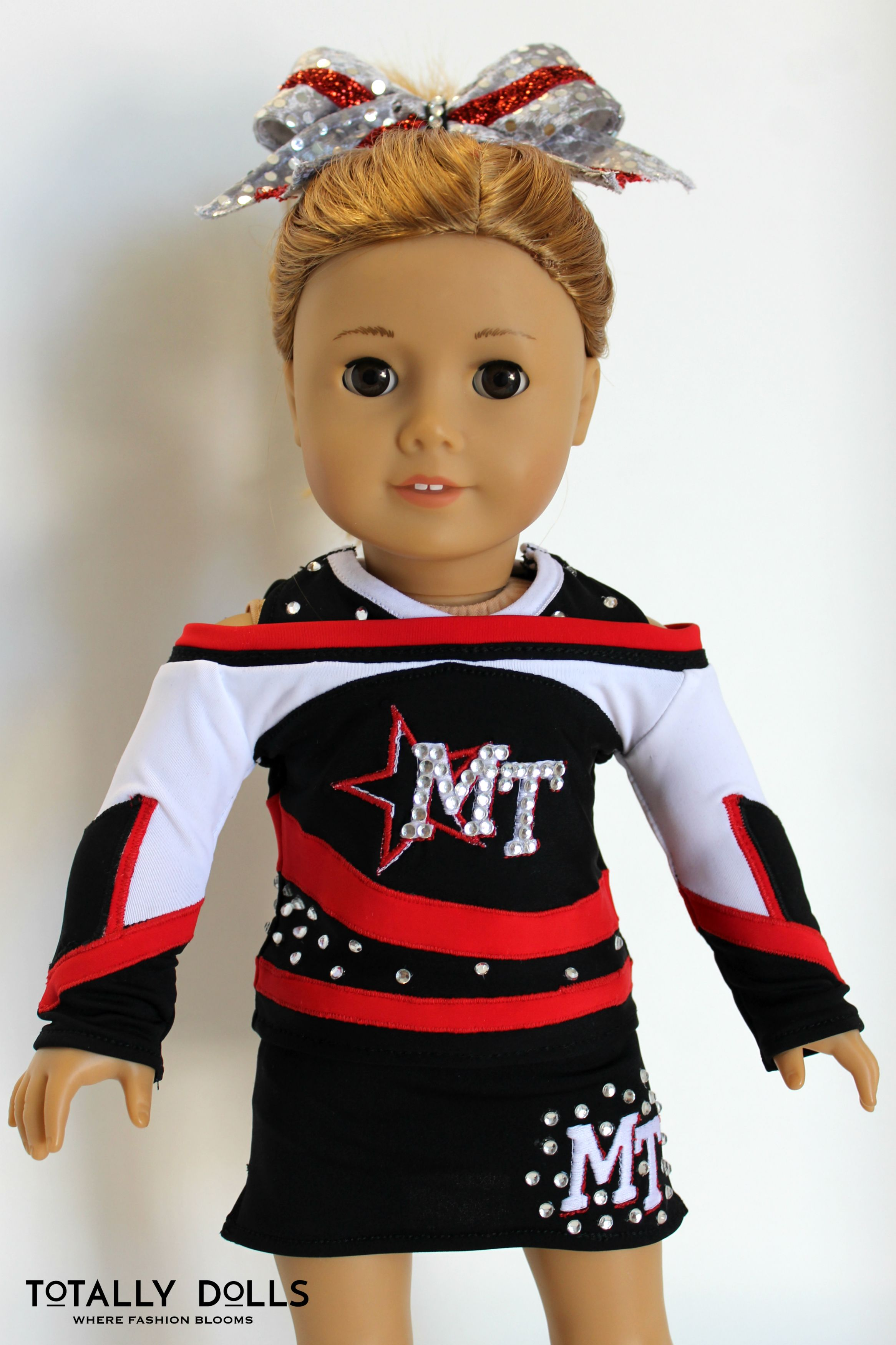 American Girl Doll Clothing 18 Inch Doll Clothing Custom Order Cheer Uniform Competition Chee Doll Clothes American Girl Doll Clothes Dolls Clothes Diy