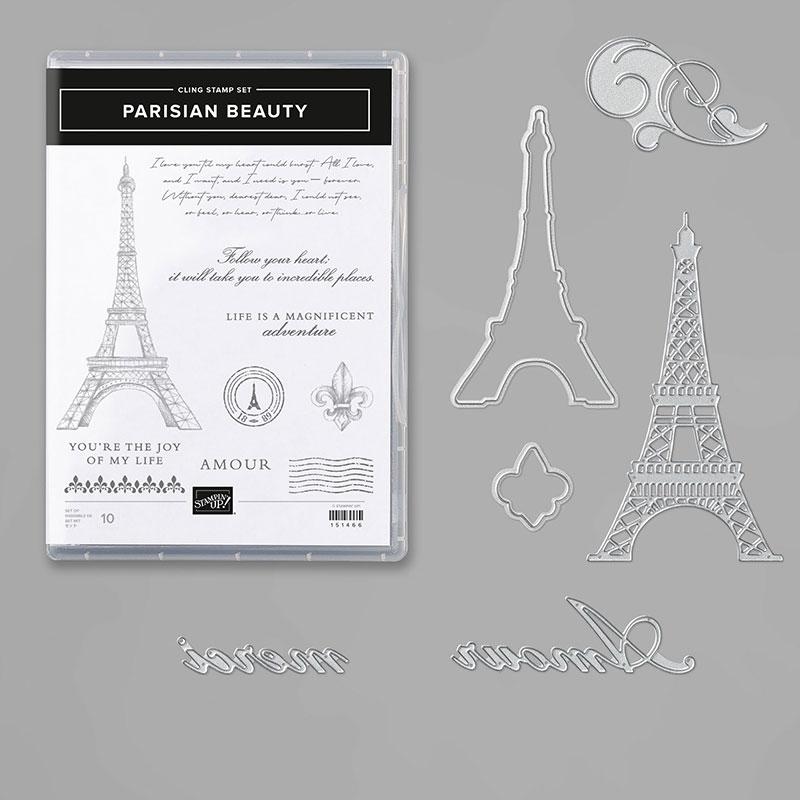 Parisian Beauty Bundle English By Stampin Up In 2020 Gatefold Cards Beauty Products Online Beauty Bundle