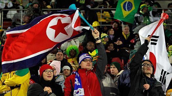 Soccer fans cheer for both teams on Korean peninsula | Asia | DW ...