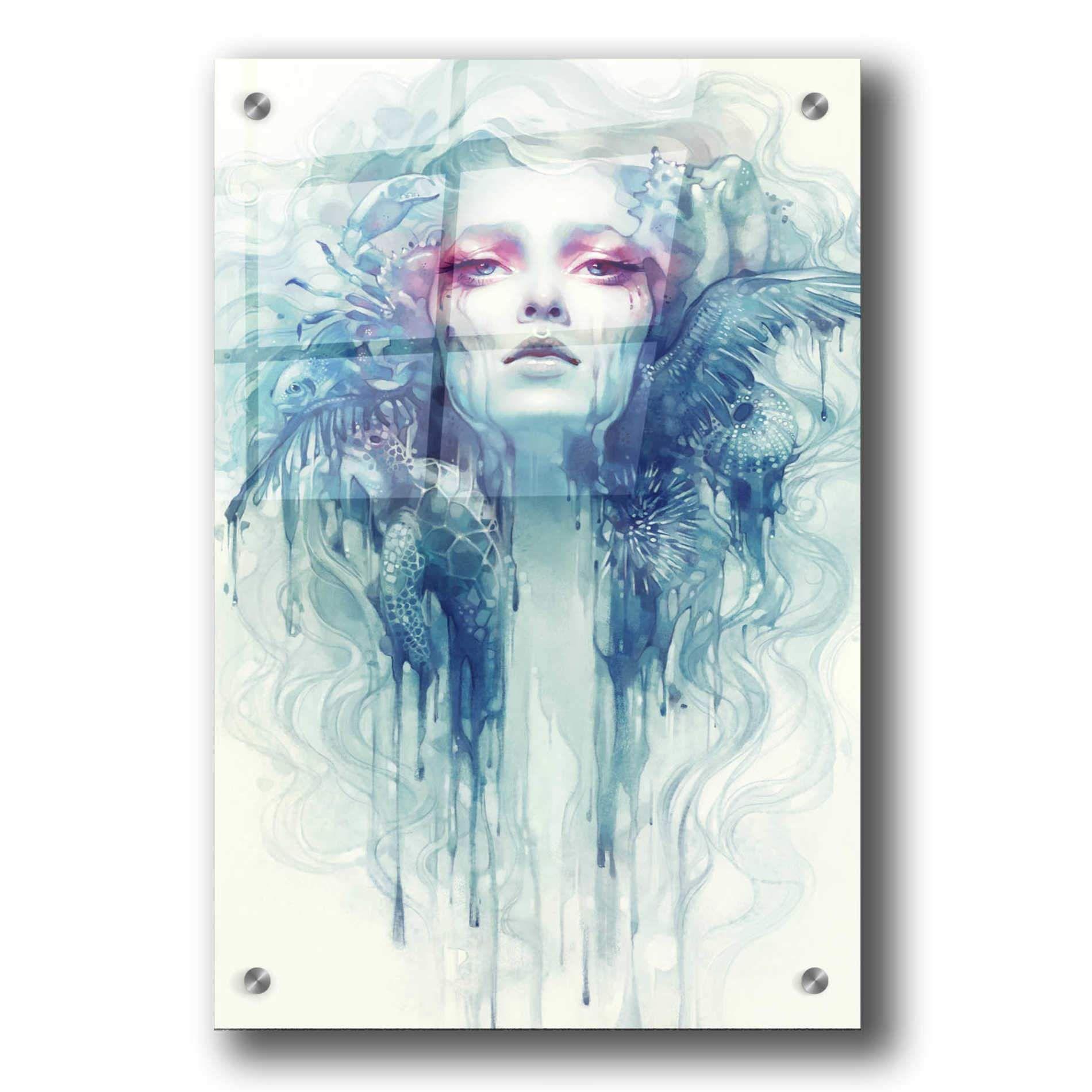 Photo of Epic Art 'Oil' by Anna Dittman, Acrylic Glass Wall Art – 24×36