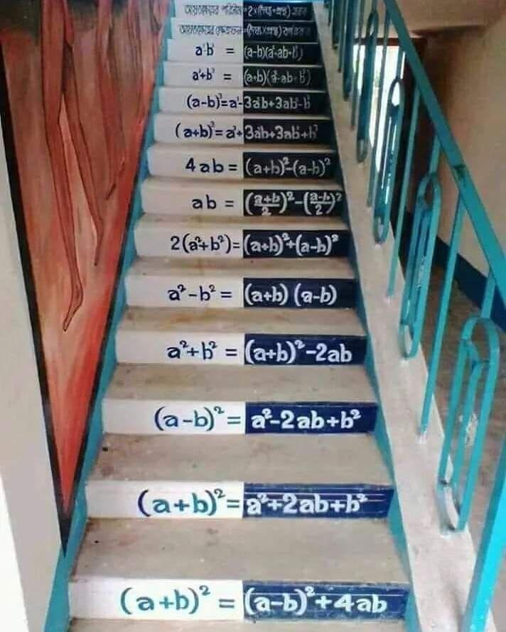 Escada do sucesso! 🤓👩🏻🏫💪🏻💙 . #Matemática #Exatas #