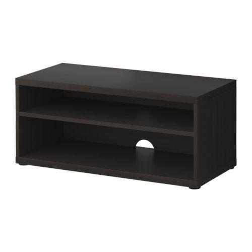 Lack Tv Meubel Ikea Zwart.Tv Meubel Mosjo Zwartbruin Ikea Ikea Tv Meubels En Meubels