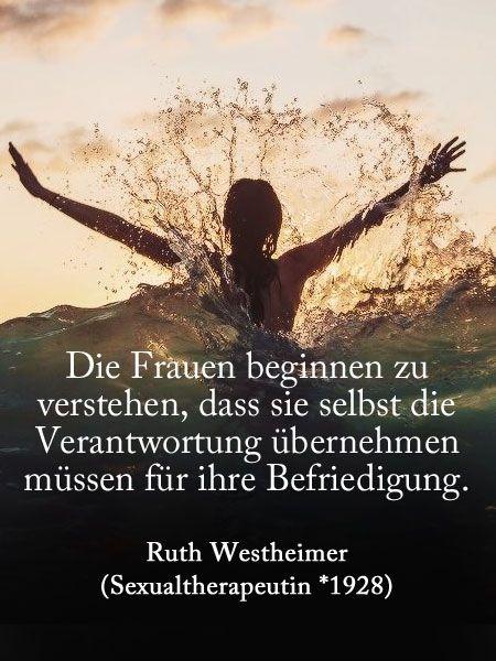 Zitate von Frauen für Frauen: Ruth Westheimer
