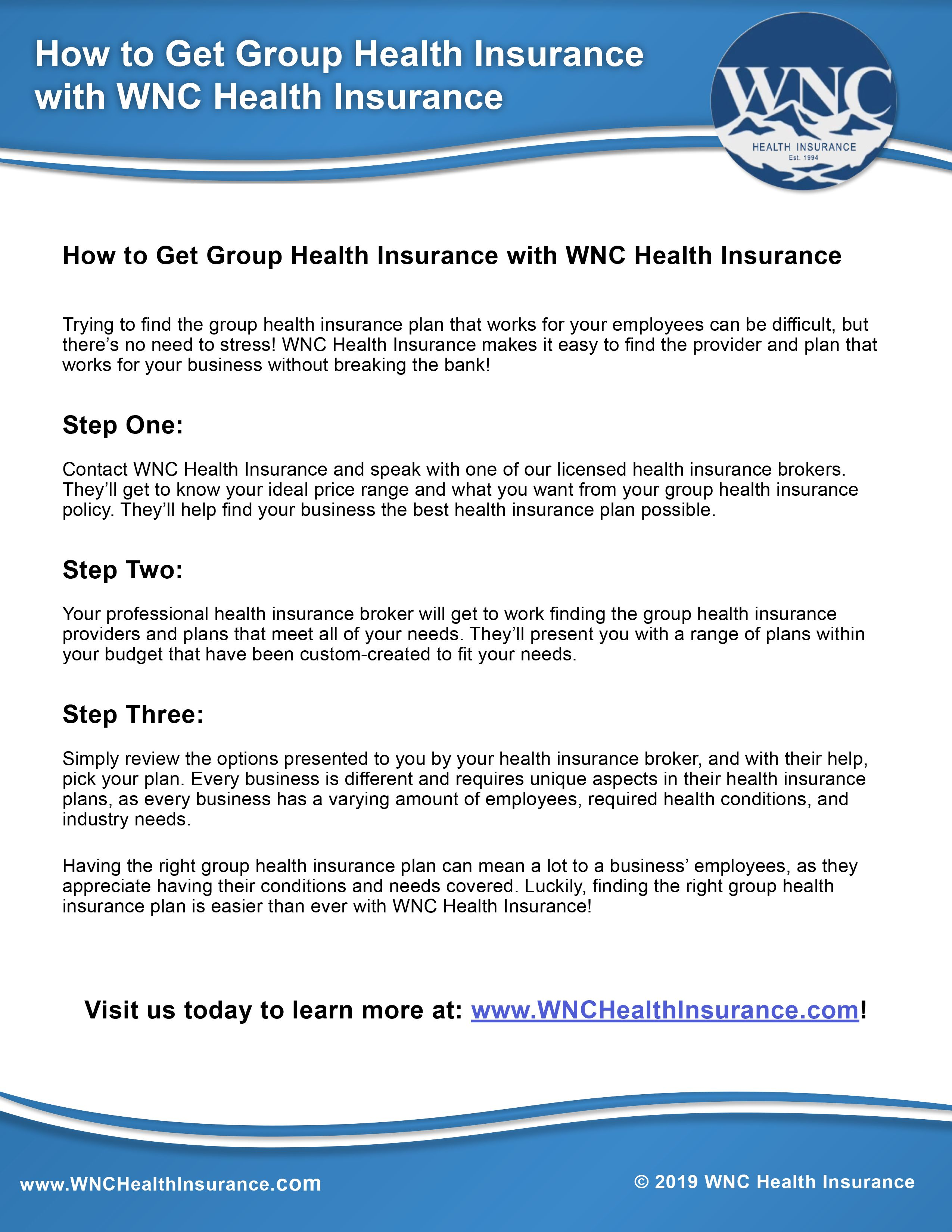 Pin by WNC Health Insurance on Group Health Insurance