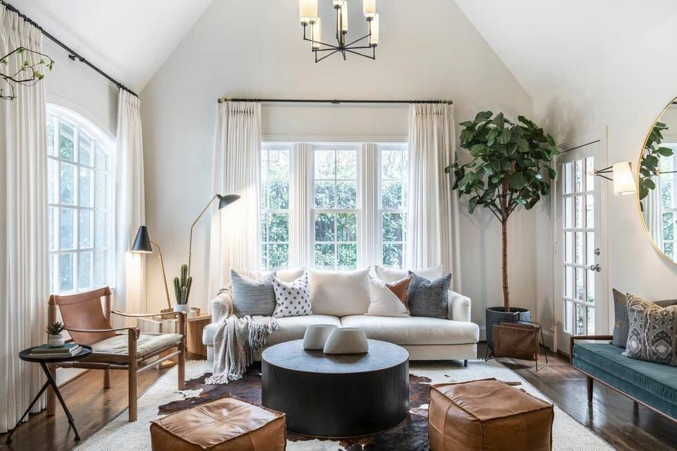 Before After Transitional Living Room Online Interior Design Decorilla Online Interior Design Transitional Living Room Design Transitional Interior Design Transitional Living Rooms