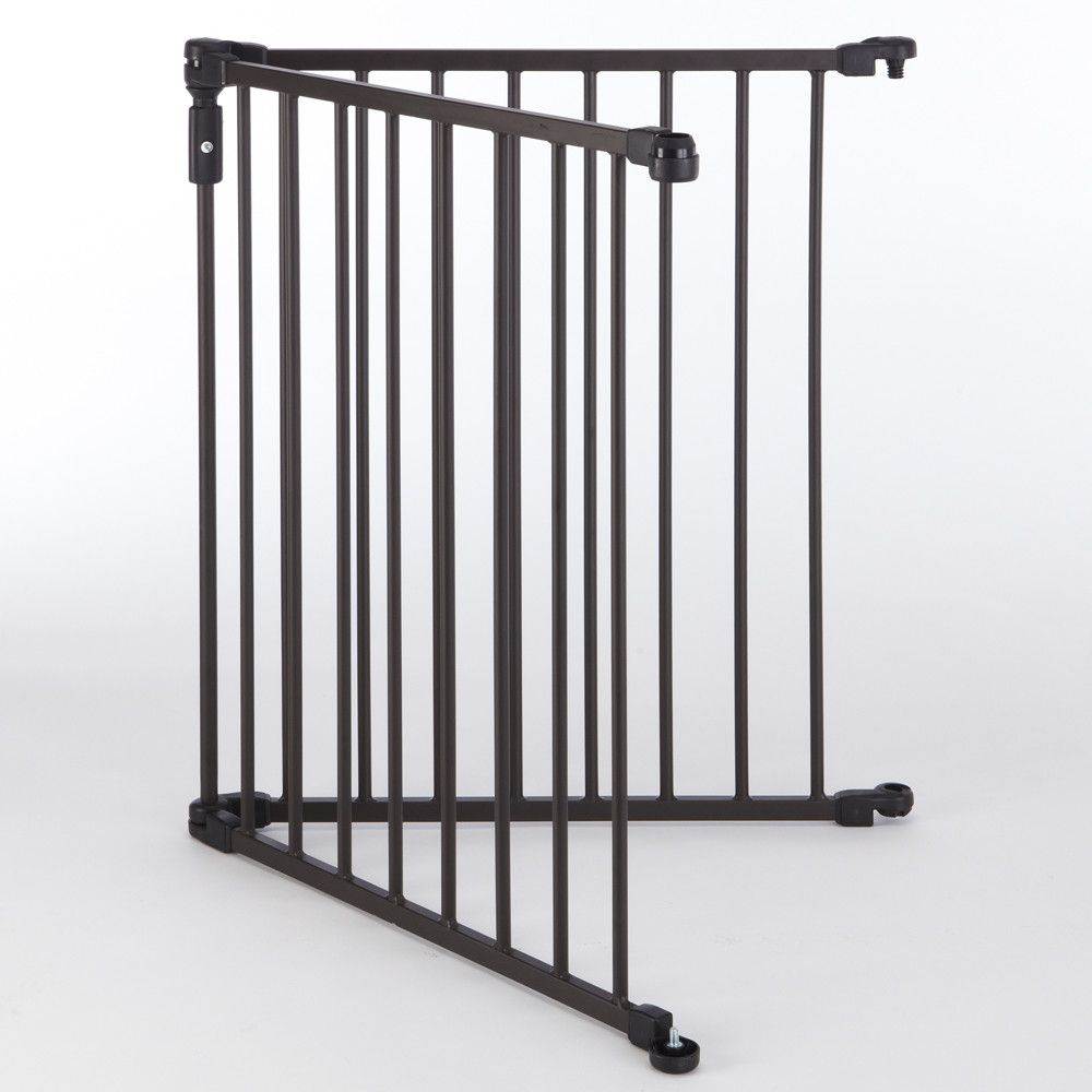 Superyard 3 in 1 Arched Décor Metal Gate Extension Kit