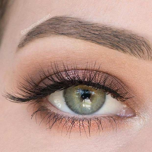 Natural Wedding Makeup For Green Eyes Best 25 Grey Green Eyes Ideas Brown Eyeshadow Tutorial Make Up - makeuptu.com