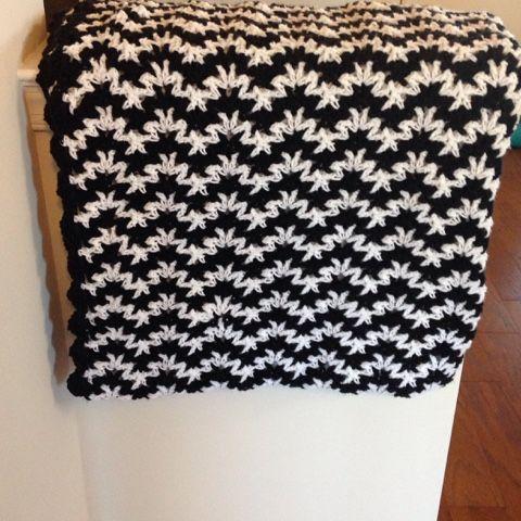Black and white vintage crochet blanket crafty crochet stuff black and white vintage crochet blanket dt1010fo