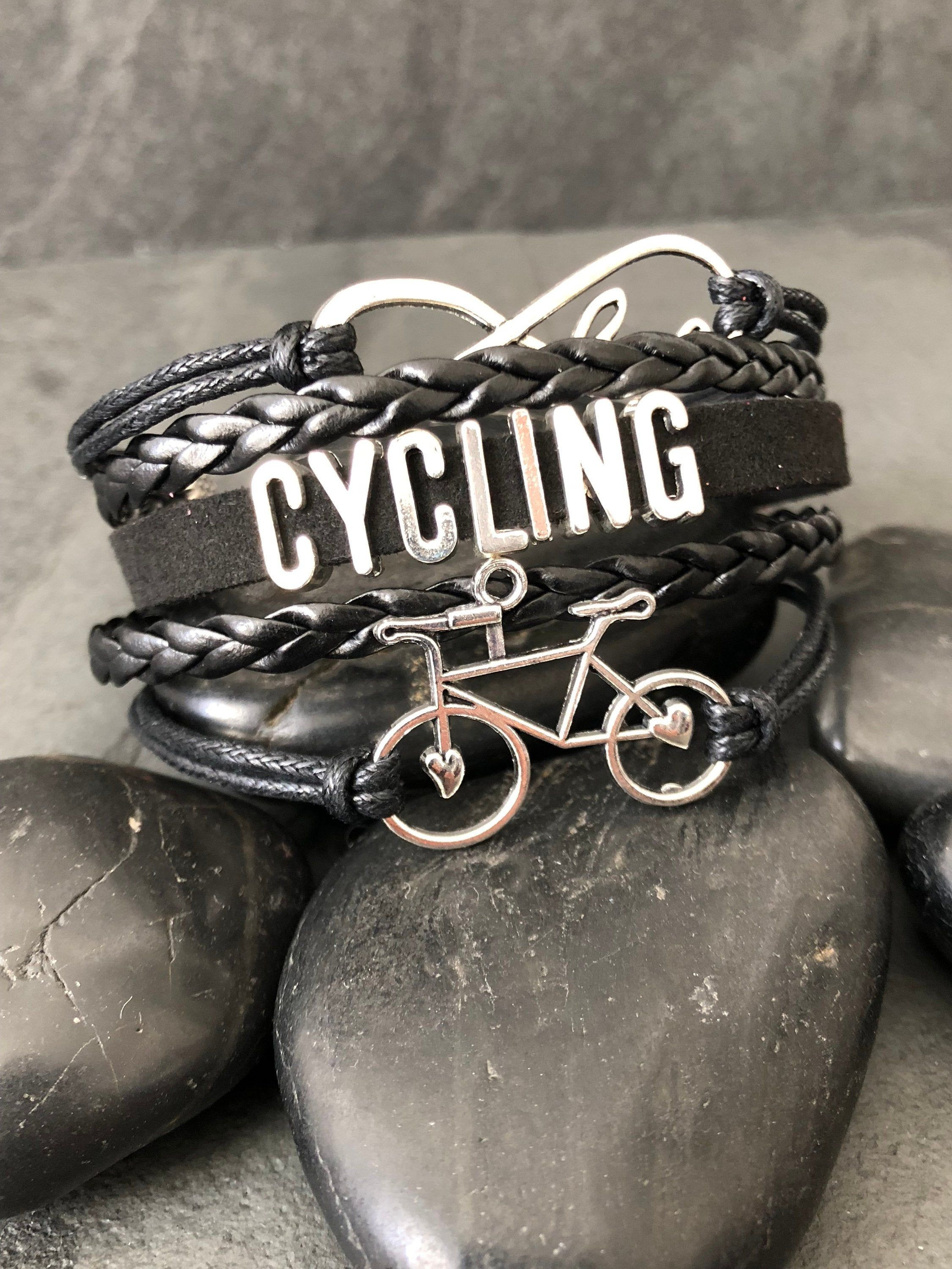 Bicycle Bracelet Gift For Cyclists Biker Gift Biking Gift Bicycle Bike Gift Bicycle Gifts Cyclist Cycling Gifts Cycling Gift