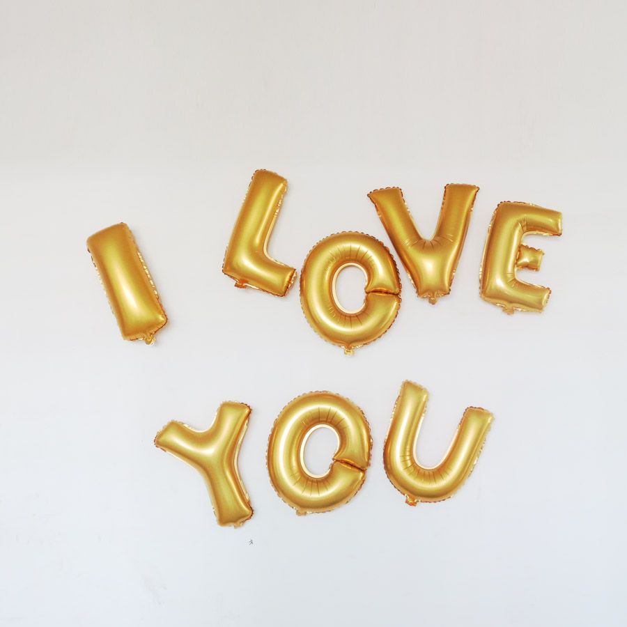 Wholesale Small Letters Aluminum Membrane Balloon Party