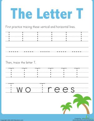 Letter T Worksheets. Letter T Worksheets Free Kids Printable ...
