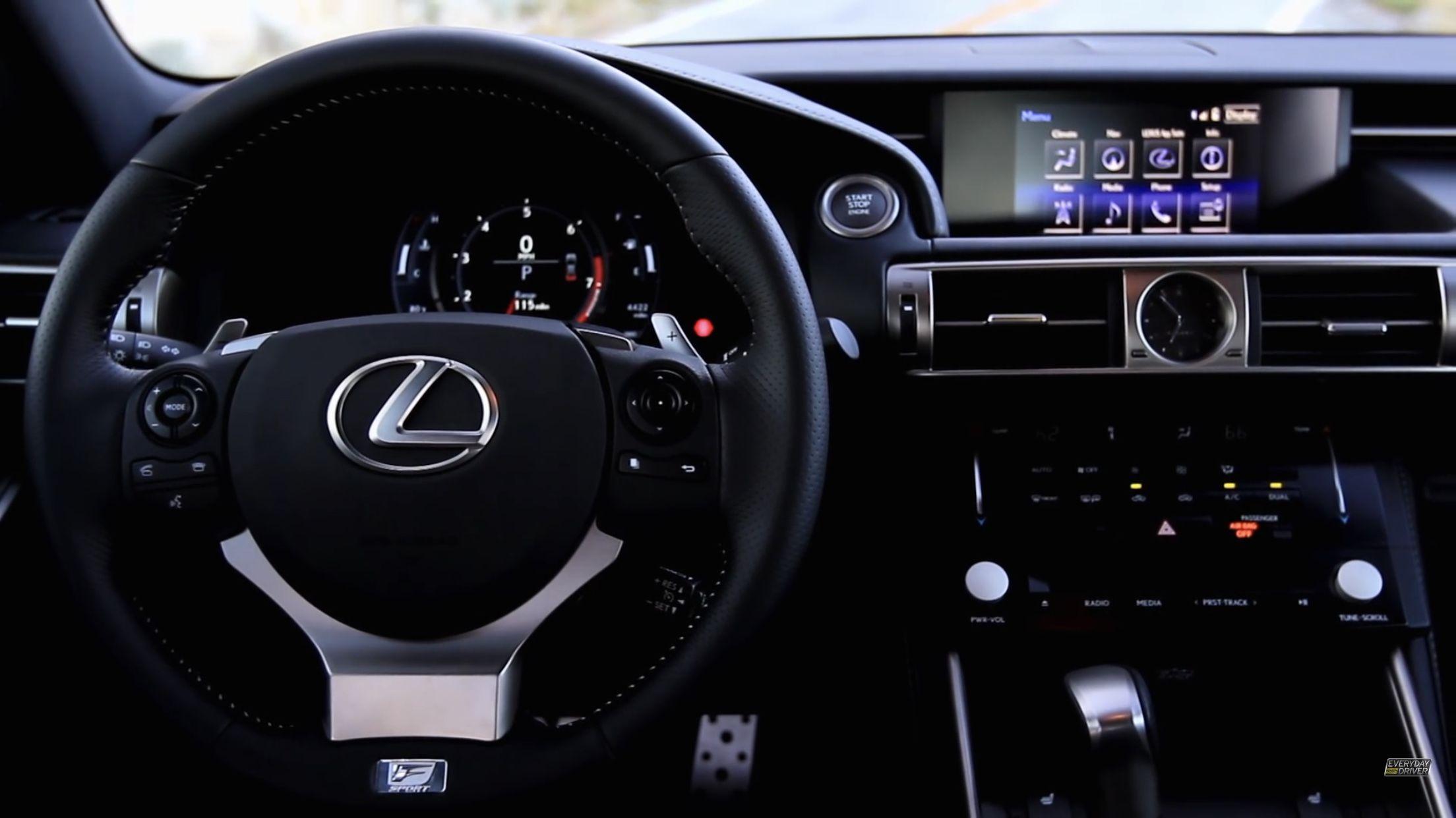 Lexus IS350 FSport interior レクサス