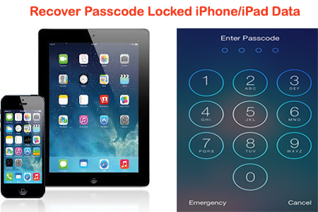 How To Recover Data From Passcode Locked Iphone Ipad Data