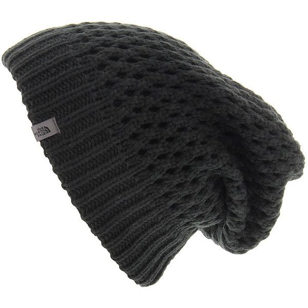2fdecadd34f The North Face Shinsky Beanie women s Black Hats (92 BRL) ❤ liked on  Polyvore