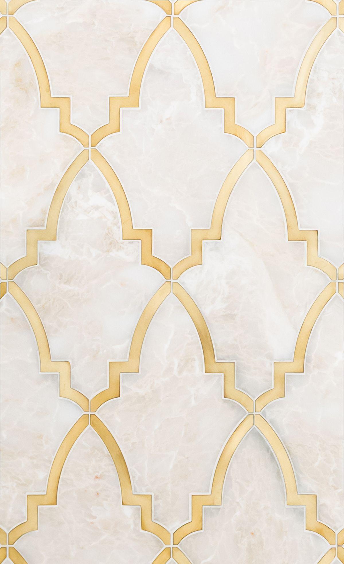 Paris Grande Water Jet Mosaic By Mosaïque Surface Through Renaissance Tile And Bath