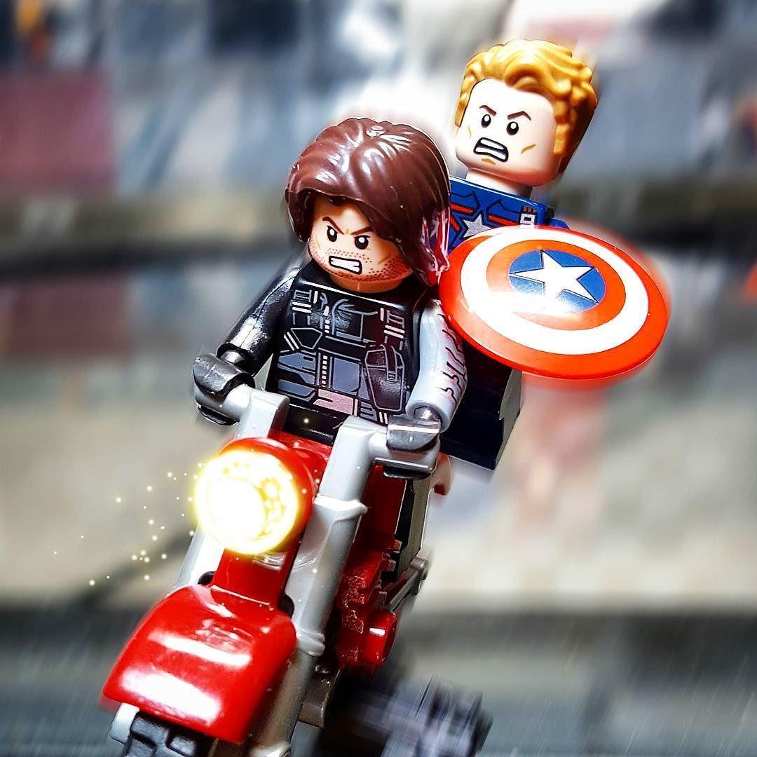 W and C  #lego #legostagram #marvel #legocaptainamerica #fast #legowintersoldier #motorcycle #toyart #toyphotography #toypic #legoart #civilwar #brickart #photoshop #레고미니피규어 #캡틴아메리카 #윈터솔져 #시빌워 #포토샵 by p_ngs