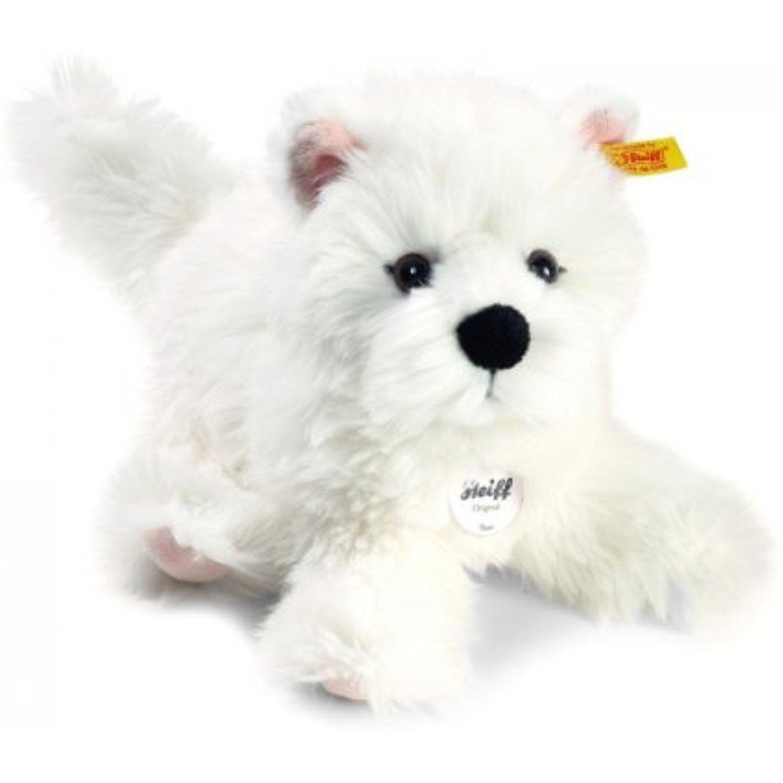 Steiff Sam West Highland Terrier Plush White Click On The Image