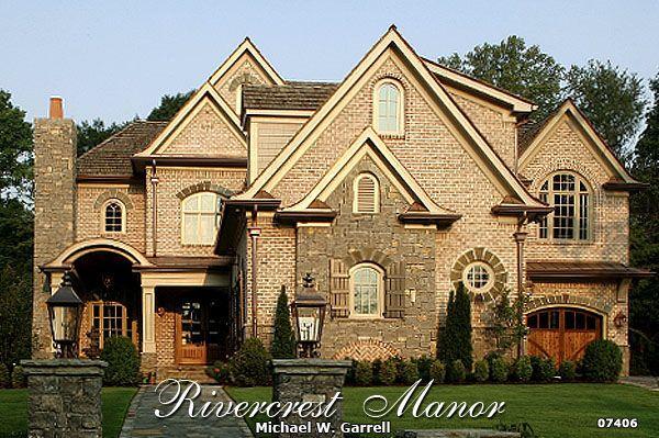 Garrell Associates Inc Rivercrest Manor House Plan