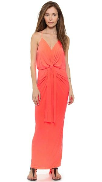 Tbags los angeles maxi dress with beading designs