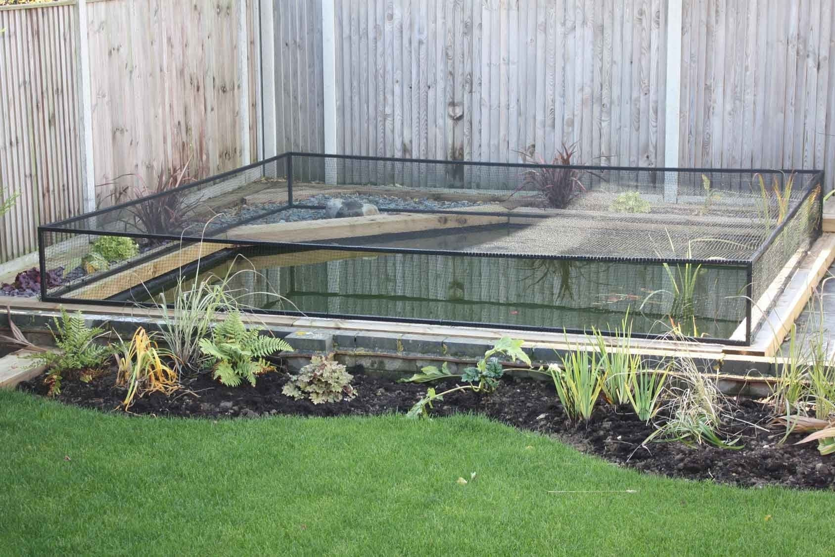Raised Steel Pond Cover in 2020 (With images) Pond