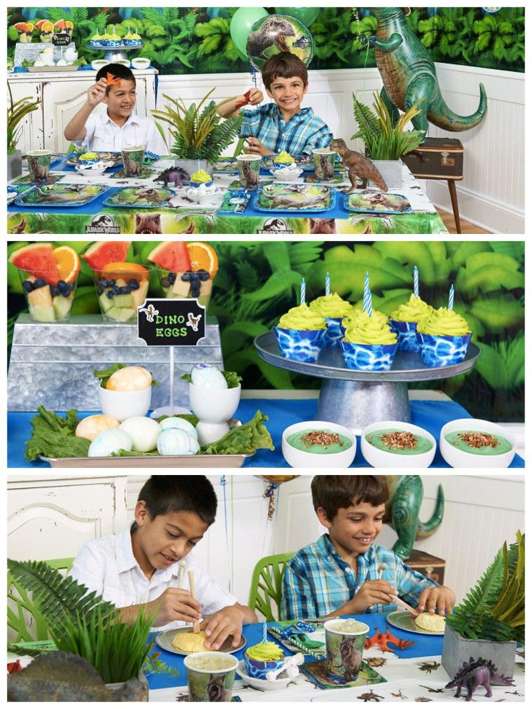 Mom, Dad & Me Throw a Dinosaur Party, Together!