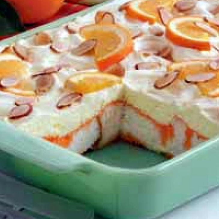 Orange Pineapple Dessert Recipe Dessert Cake Recipes