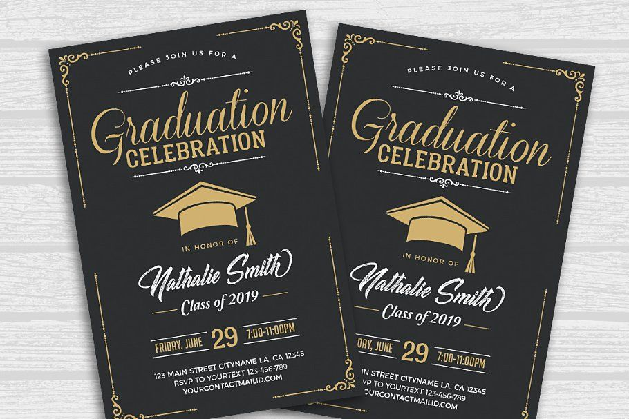 Graduation Celebration Flyer Celebration Graduation Templates