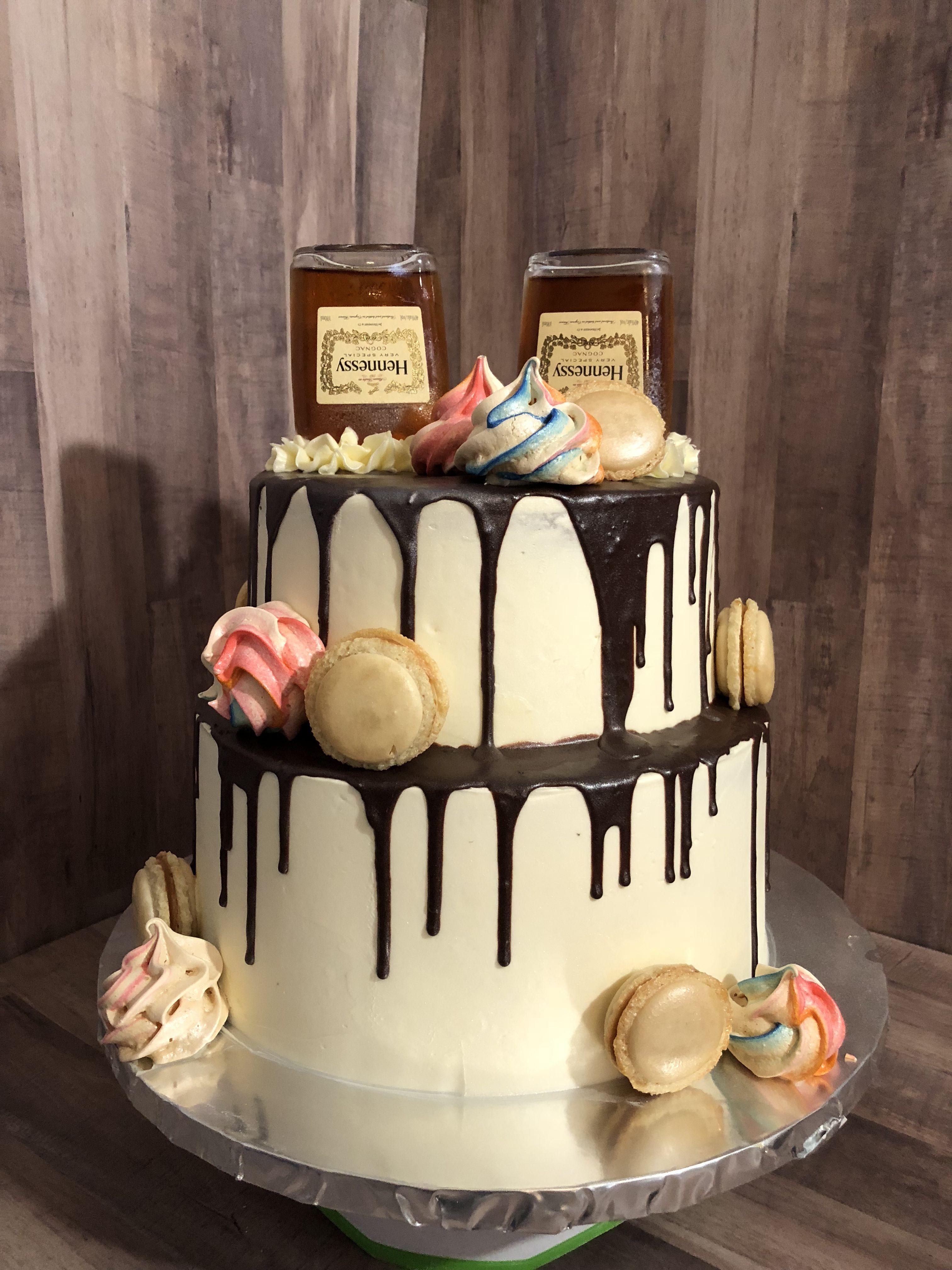 Hennessy birthday cake birthday cake cake desserts