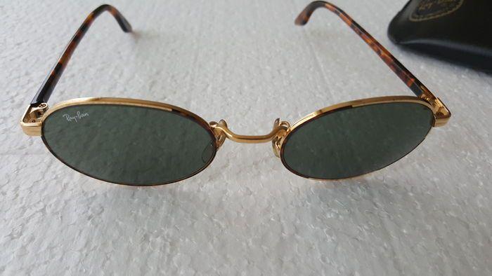 a179309aa4dd11 Ray-Ban - Vintage Zonnebril- Unisex Zeer aparte bril van hoge kwaliteit  .Collectors item. Model W 2188 Glazen gebruikt maar 100% goed Zie foto s  voor goede ...