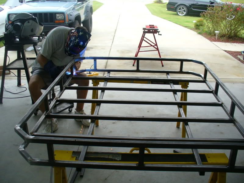 Diy Roof Rack The Garage Journal Board Roof Rack Truck Roof