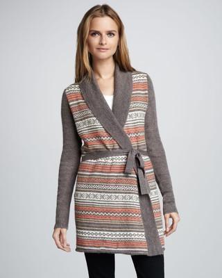 Splendid Aspen Fair Isle Tie-Waist Sweater / Wantering | Sweaters ...