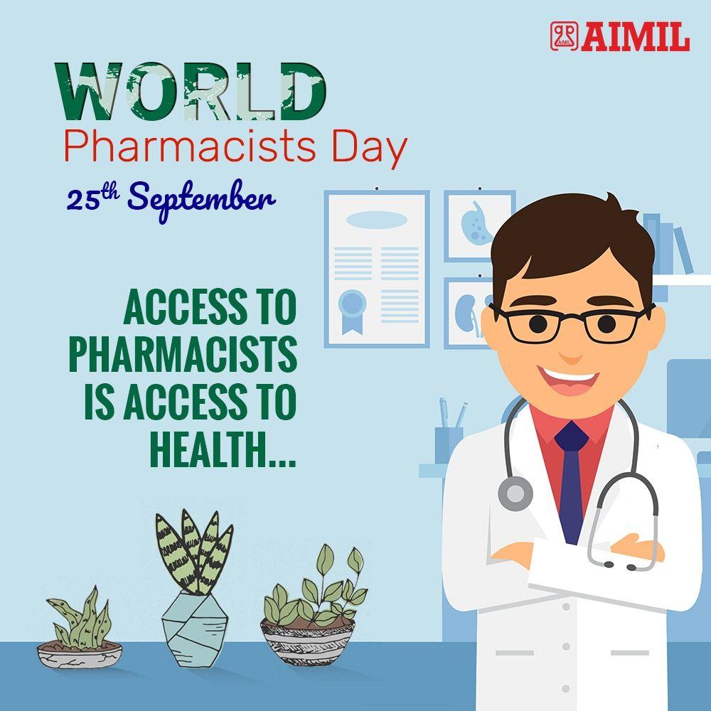 """We wish every pharmacist a happy World Pharmacists Day"