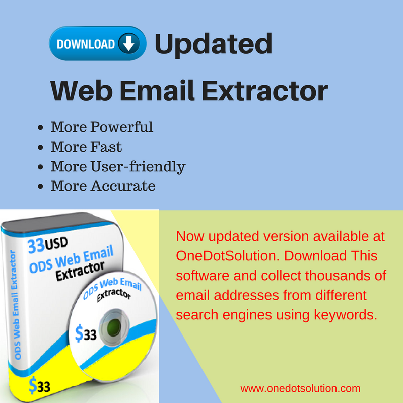 now collecting email addresses from internet became more easy