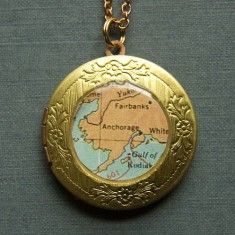 Custom Locket with City Map...getting a NOLA one!