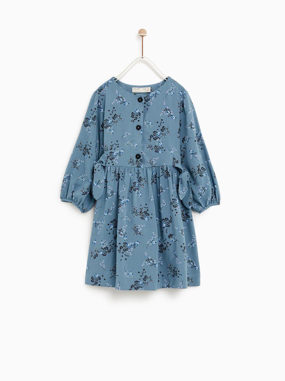 Image 1 Of Floral Dress From Zara Kindermode Kleider Kinder Kleider Madchen Kleidung