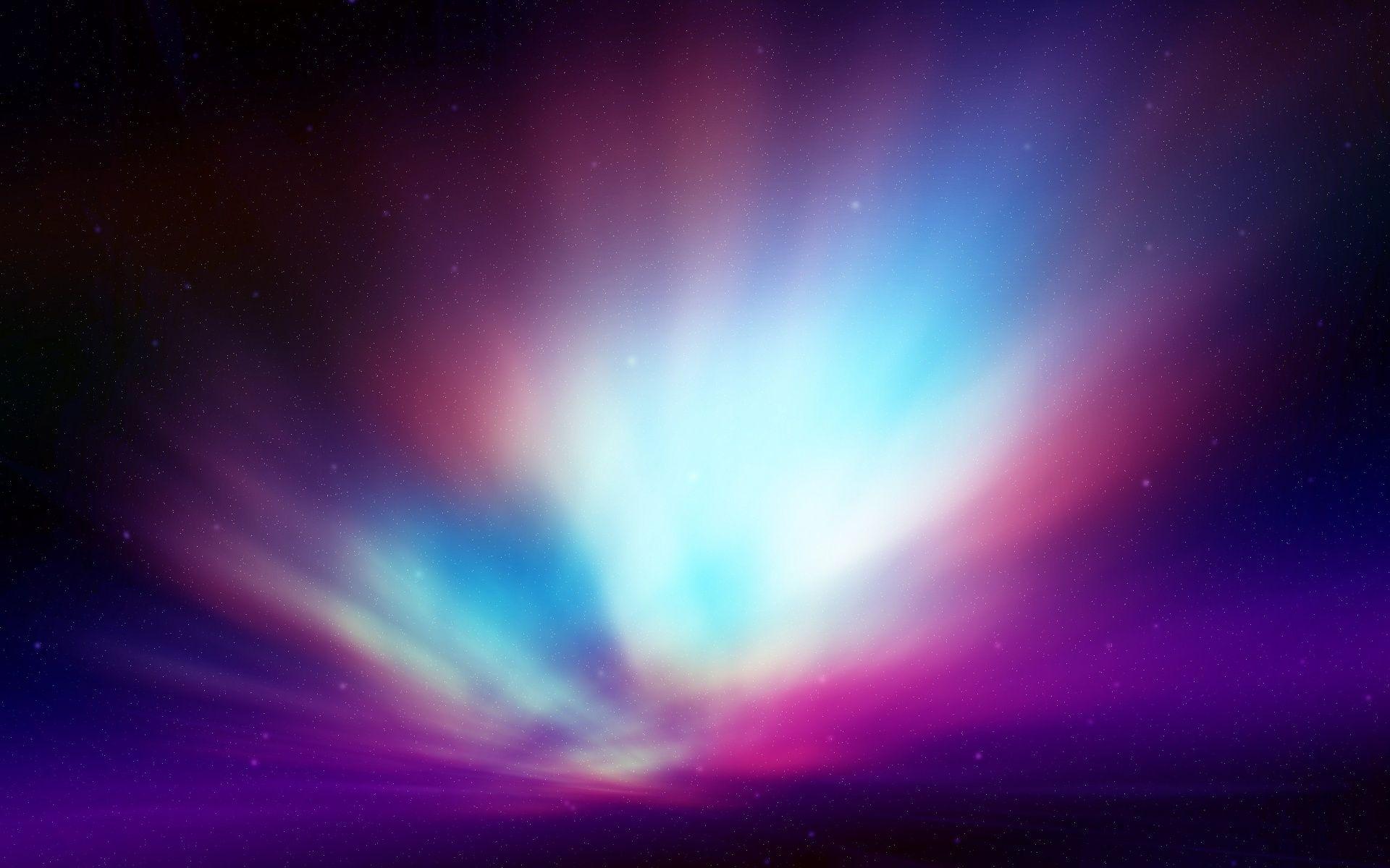 Terre Nature Aurore Boreale Splendid Pastel Aurora Fond D