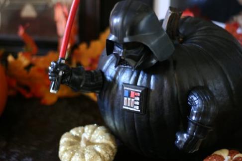 Star Wars Darth Vader and Yoda Halloween Push Pin Pumpkin | Get FREE ...