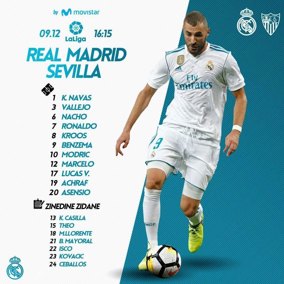 Pin De Thammarat Butrasueb Em Real Madrid Laliga 2017 2018 Futebol