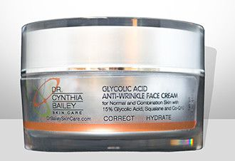 acid glycolic facial wrinkle cream anti