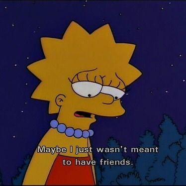 Lisa Simpson Tumblr Me 2
