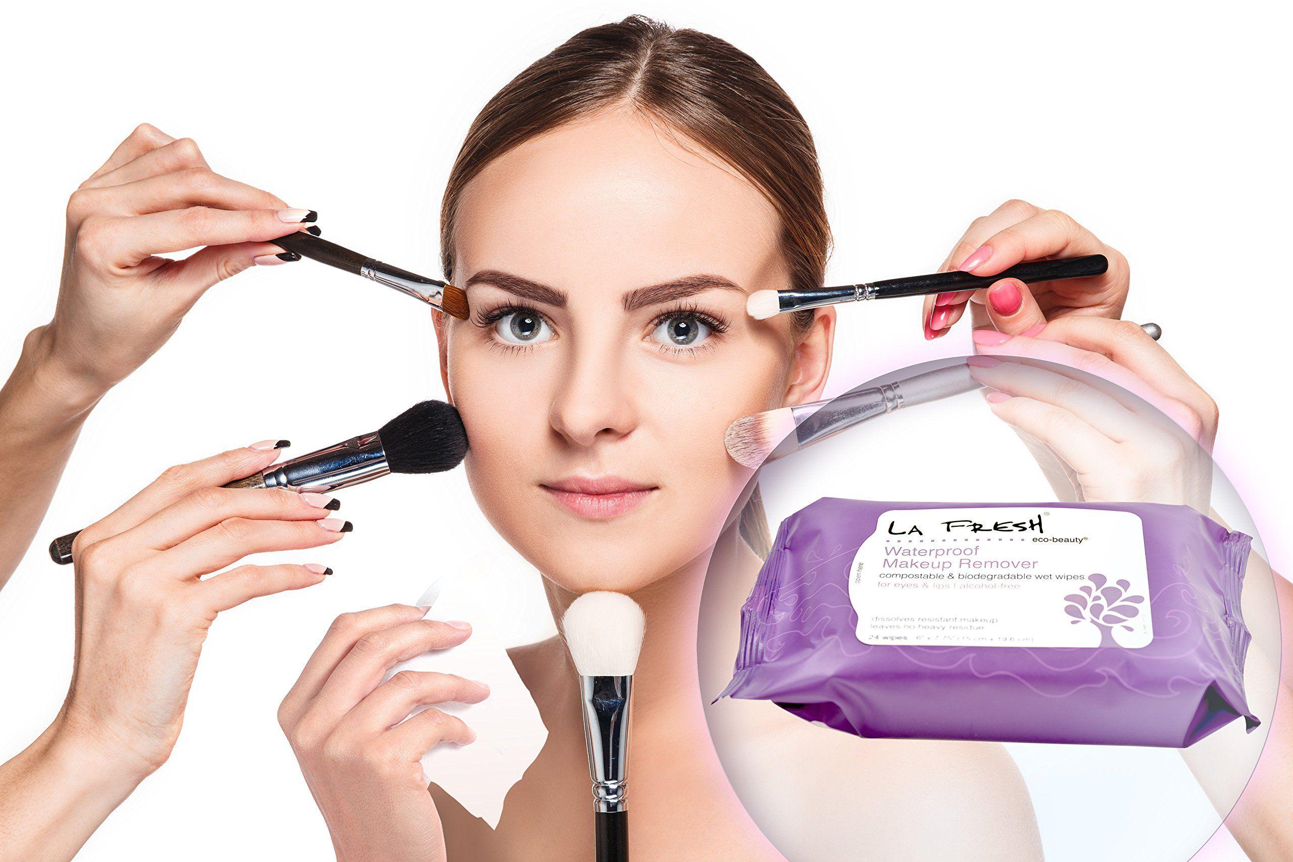 La Fresh EcoBeauty Waterproof Makeup Remover Travel Wipes