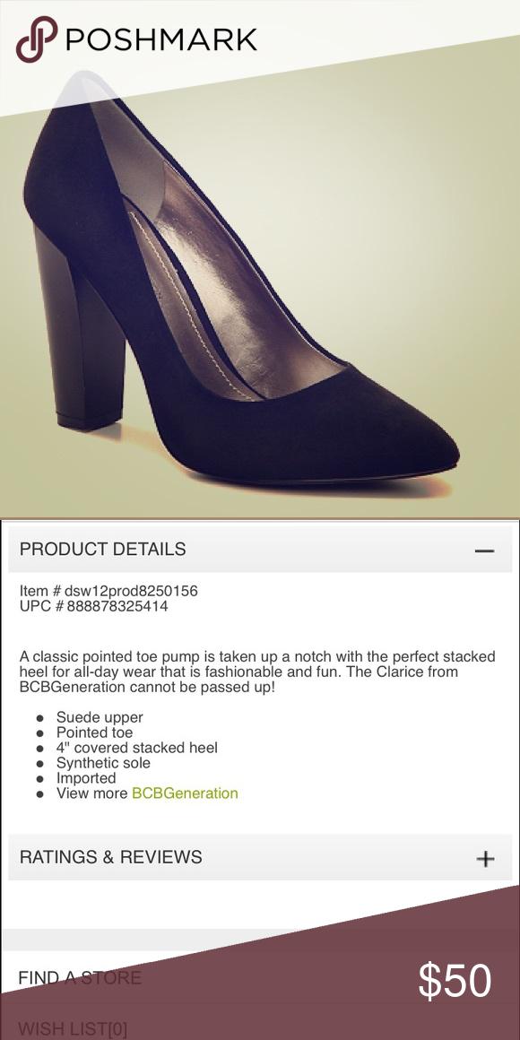 f1de40d8d9d BCBG Generation Suede Clarice Pump BCBG Generation Suede Heels  BCBGeneration Shoes Heels