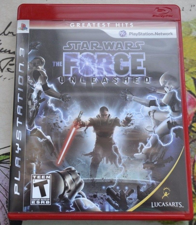 """Star Wars """"The Force Unleashed"""" PS3 (Playstation 3) - NEVER PLAYED! https://t.co/pmUweLTVIm https://t.co/oqPBohJqdP"""