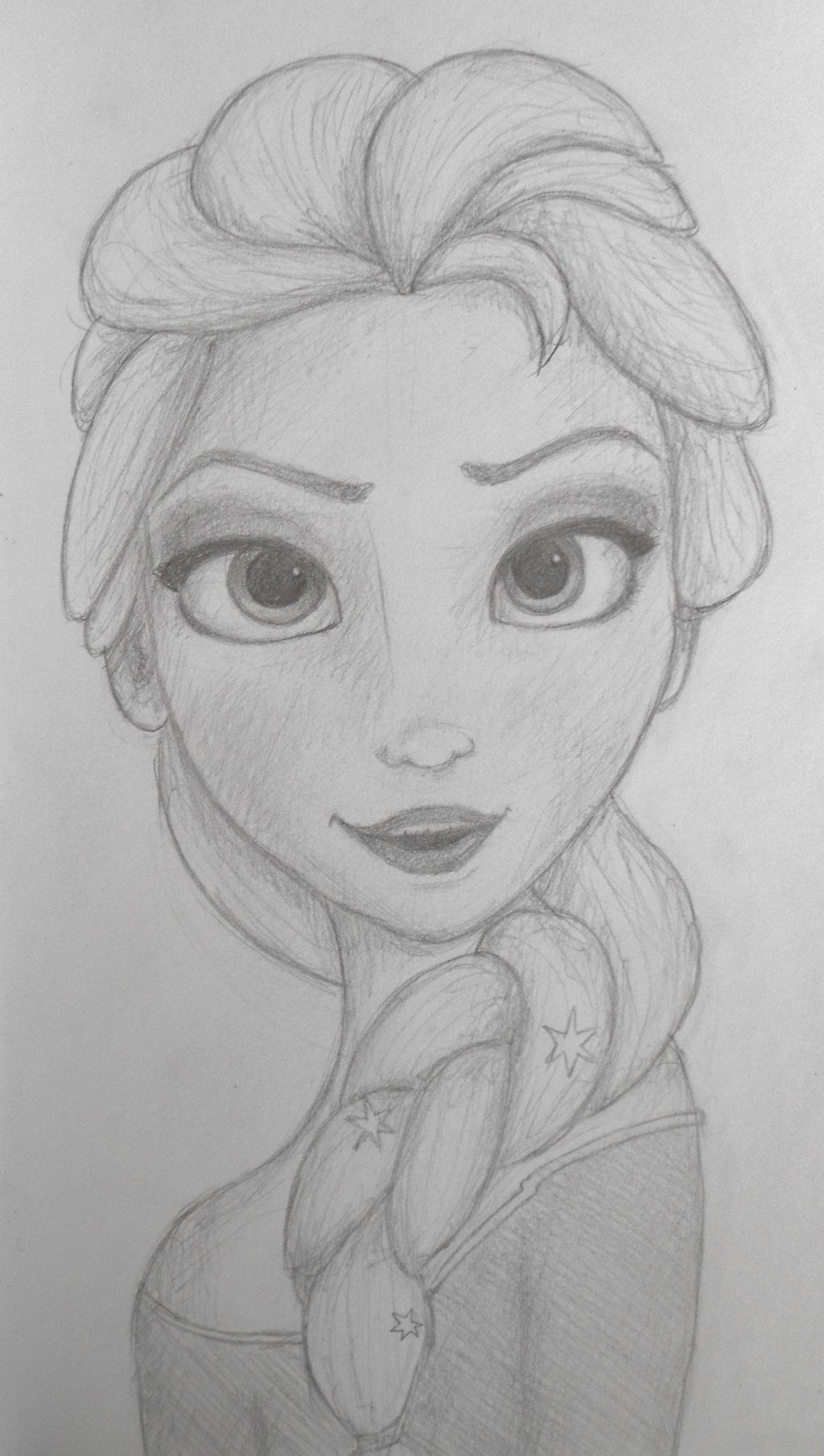 Frozen Elsa Drawing Pencil Easy Elsa Pencil Drawing Fresh Anna