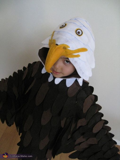 bald eagle costume more bald eagle eagle costume and eagle ideas. Black Bedroom Furniture Sets. Home Design Ideas