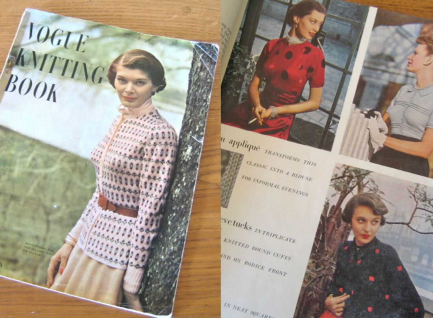 1940s vogue knitting book 1949 no 34 many wonderful patterns by 1940s vogue knitting book 1949 no 34 many wonderful patterns by toptottievintage on etsy https bankloansurffo Choice Image