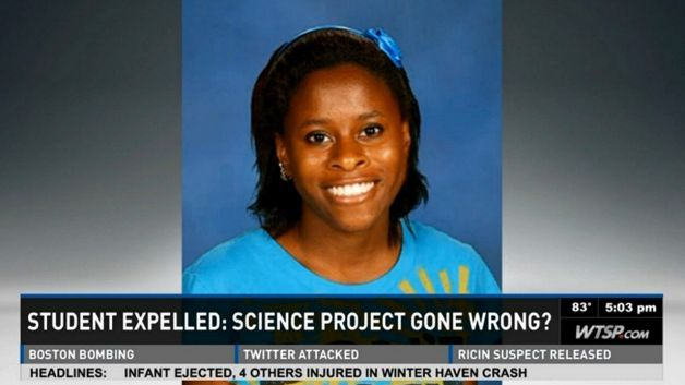 Florida Teen Expelled and Charged As Adult For Bad Science Experiment